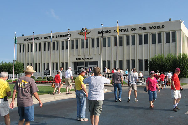 Britishv8 Tours The Indianapolis 500 Hall Of Fame Museum