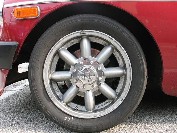 Shocks And Struts >> Bill Yobi's 1979 MGB with 1962 Olds 215