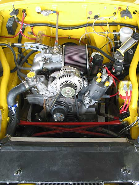Midget fuel injection conversion