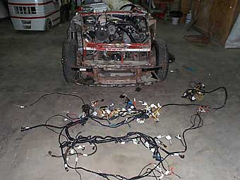 painless wiring harness for camaro joe hutcherson s 1976 mgb with chevy 4 3 efi v6 painless wire harness for v8 s10