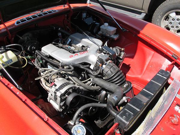 James Spradlin U0026 39 S 1979 Mgb With Gm 3 4 Sfi V6