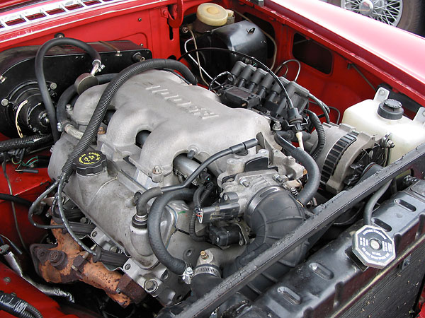 gm v engine gm get image about wiring diagram scott costanzo s 1968 mgb gm 3100 sfi v6 engine 3 1l