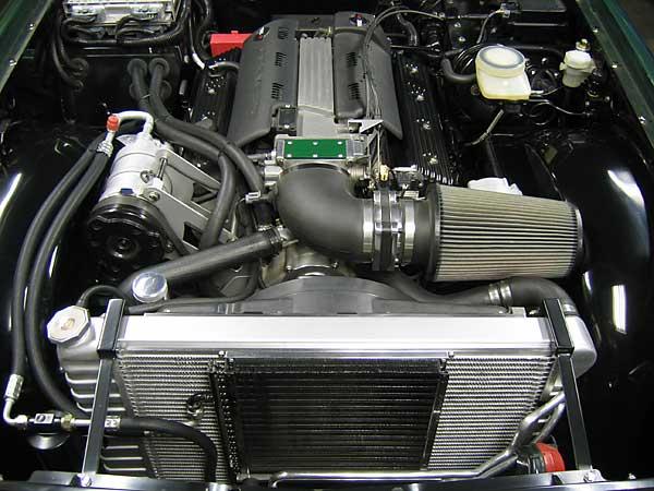Ken Hiebert S 1972 Tr 6 With 1994 Gm Lt1 5 7l Efi Engine