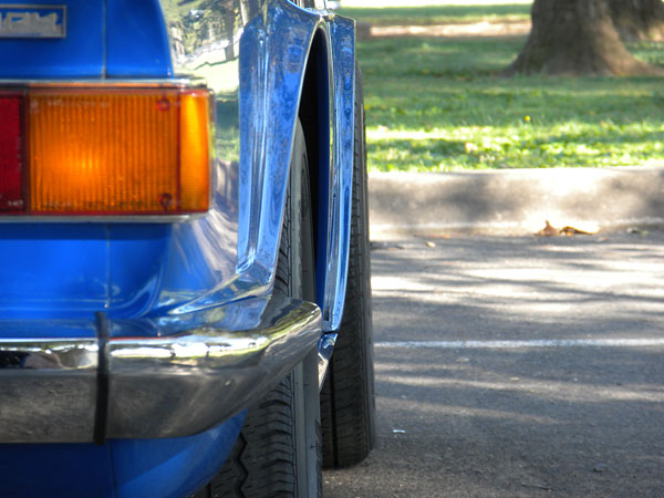Ken Percival S 1972 Tr6 Ford 289 V8 Conversion