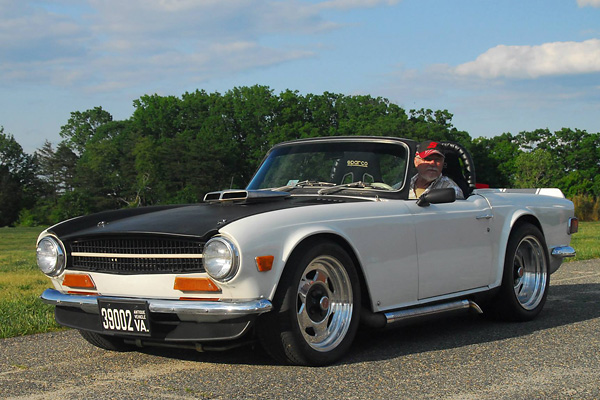 Dan Masters Triumph Tr6 Ford 302 V8 Conversion | Upcomingcarshq.com